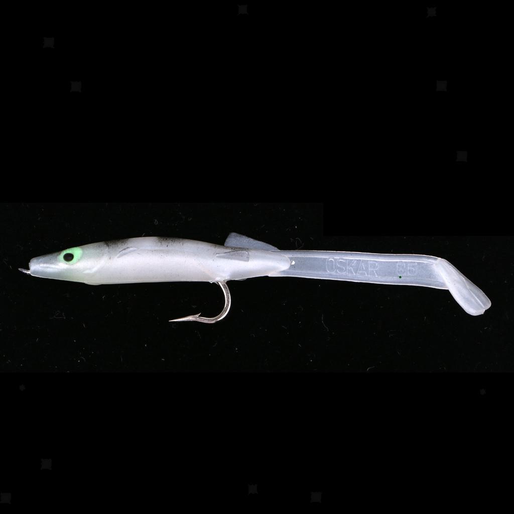 Vivid Design Eel Fishing Lure Fishing Bait Bionic Baits Hook Lures 6pcs