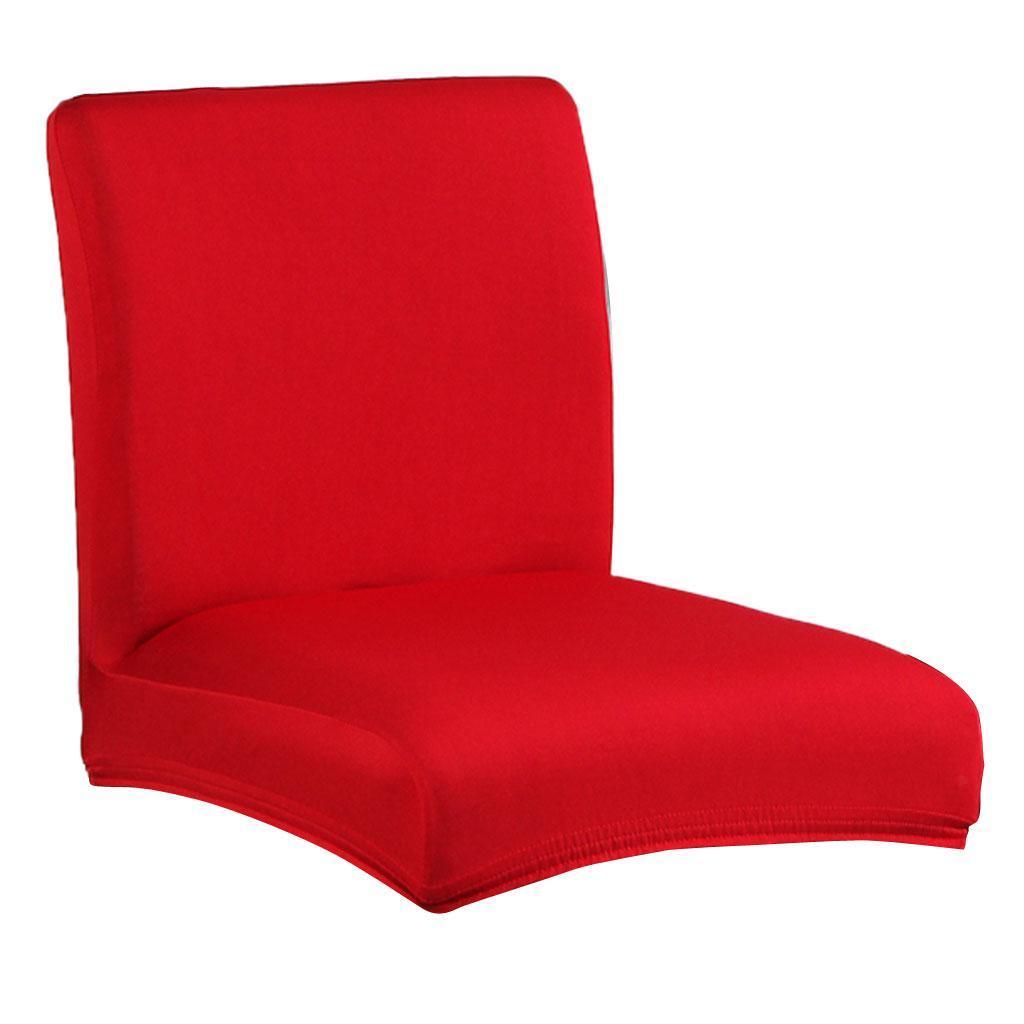 Stretch Niedrige Rückenlehne Stuhlhussen Stuhlüberzug Stuhlbezug für