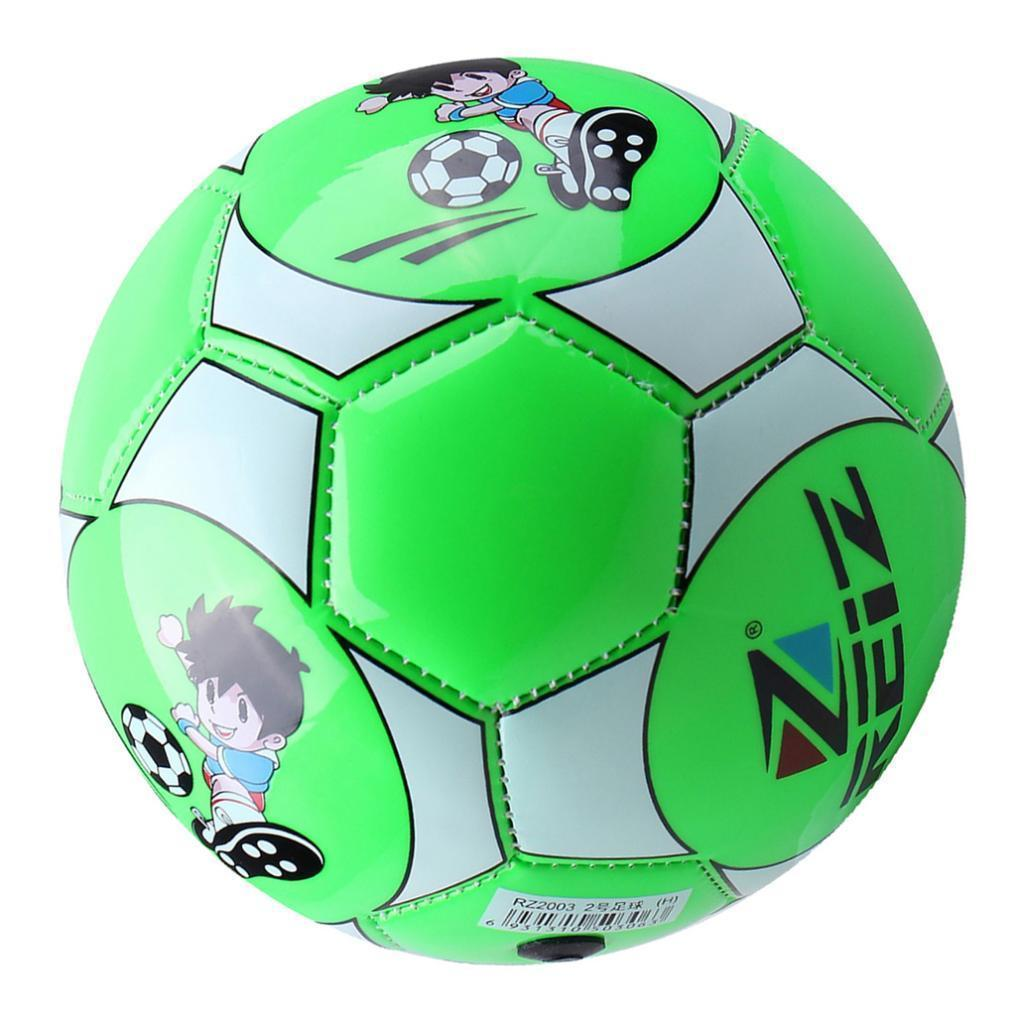 PU Leather Football Size 2 Soccer Training Ball with Net Needle for Child