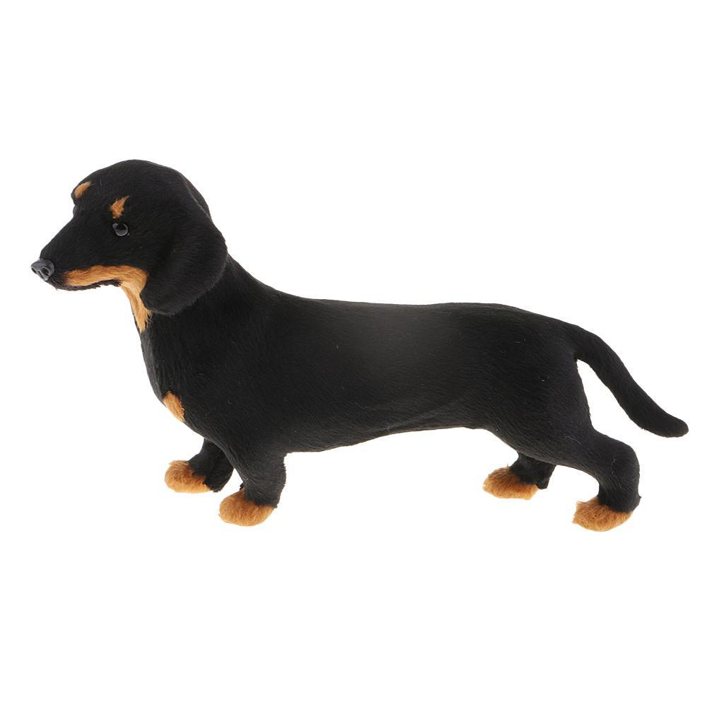 Collectible Home Garden Decoration Dachshund//Huskie Figurine Statues Model