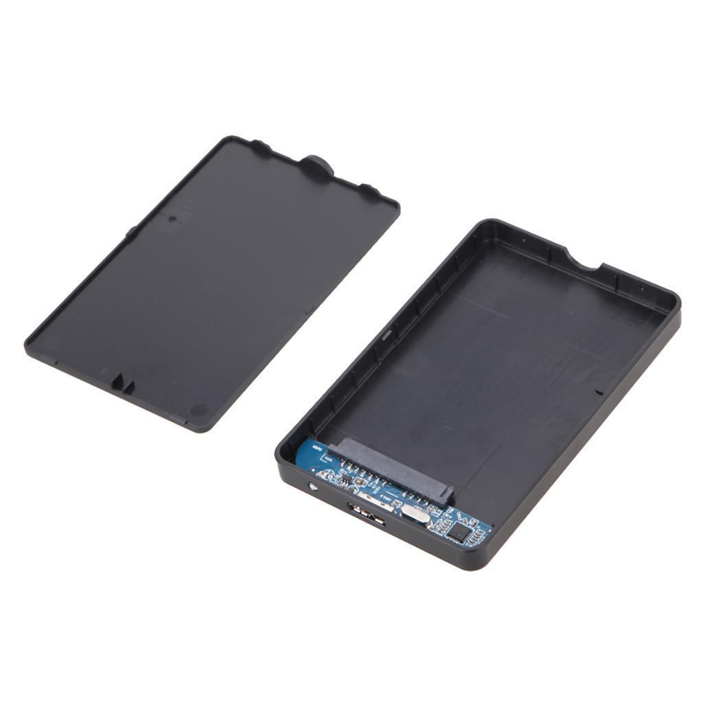 """Black External 2.5/"""" Hard Drive USB 2.0 500GB 1T 2T for TV PS4 PS3 MAC PC"""