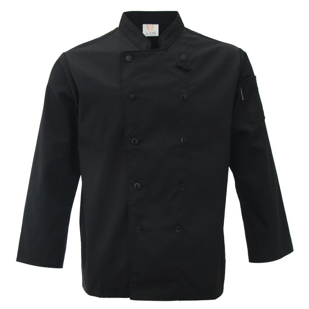 Restaurant unisex Chefkoch Langarm Jacke Jacke uniform Kochkleidung