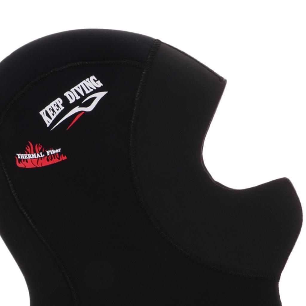 5mm Diving Hood Diving Full Face Mask Wetsuit Hood Cap Head Cover