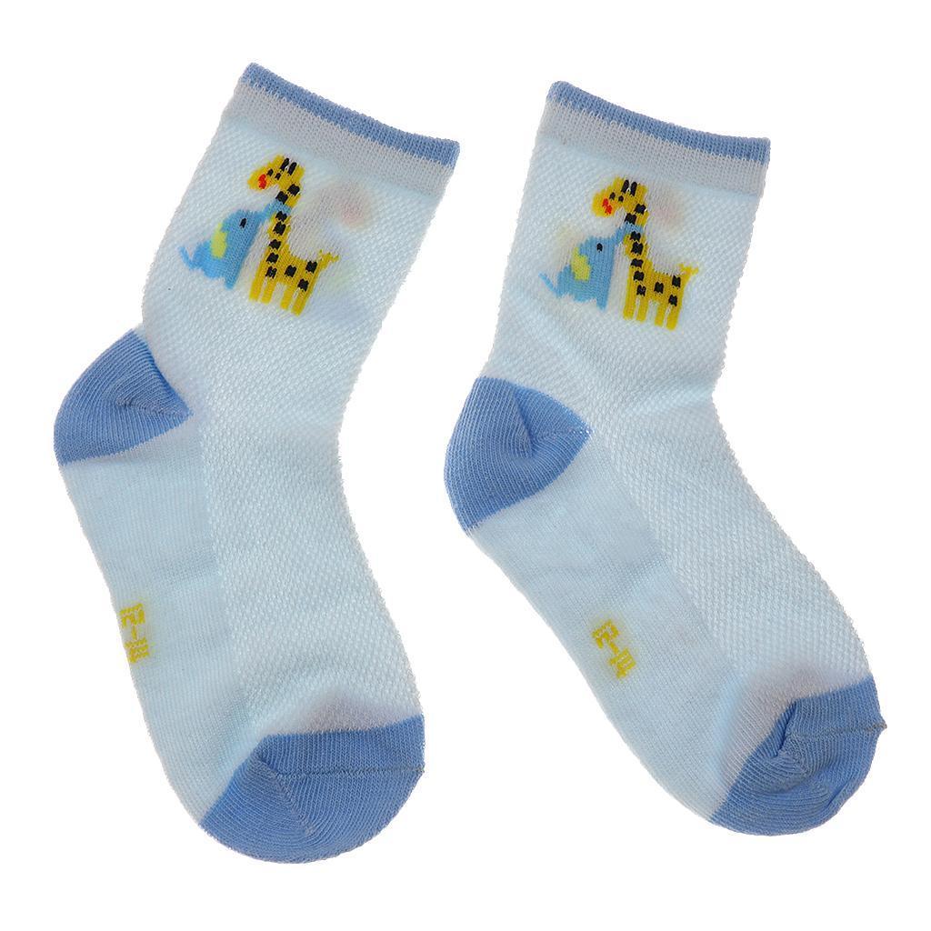 5 Pairs Autumn Kids Socks Cotton Children Boys Girls Socks For 1-10 Years