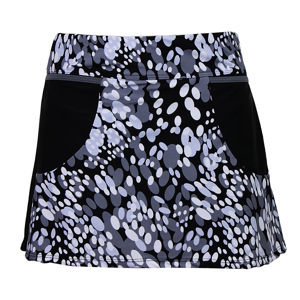 Oval Printed Push Up Tankini Skirt Swimwear Women Swimsuit Bathing Suit Set