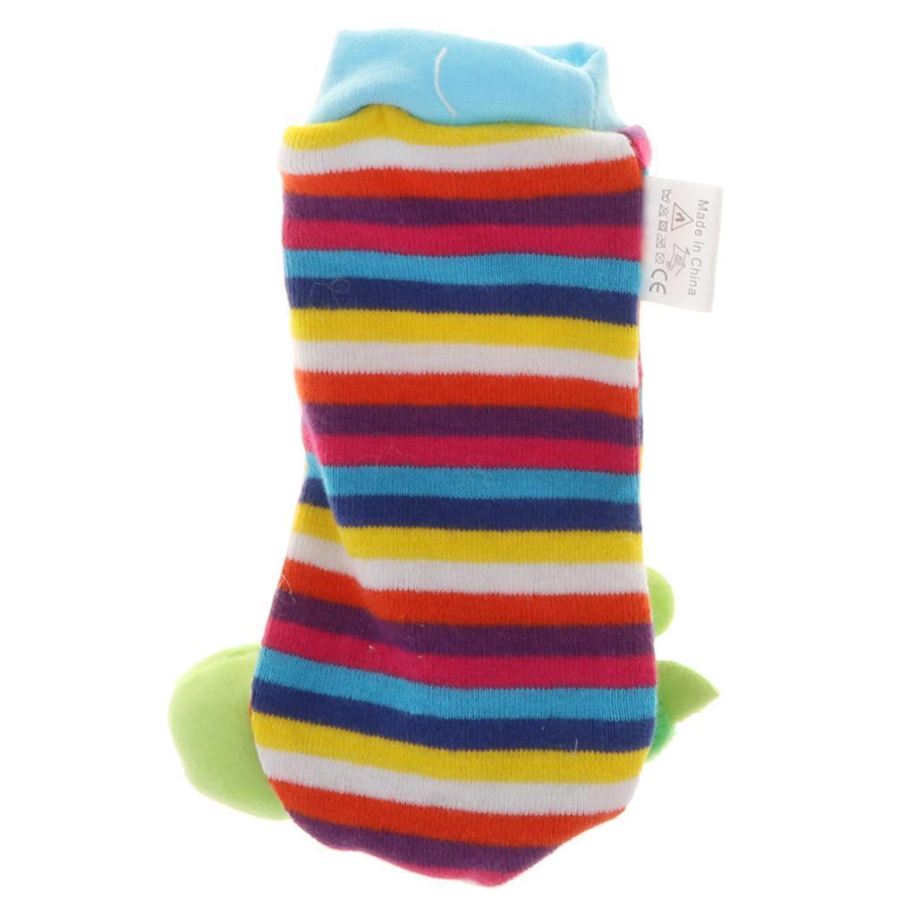 Toddler Baby Socks Rattle Sounds Rattling Sensory Toy Infant Toddler Finder