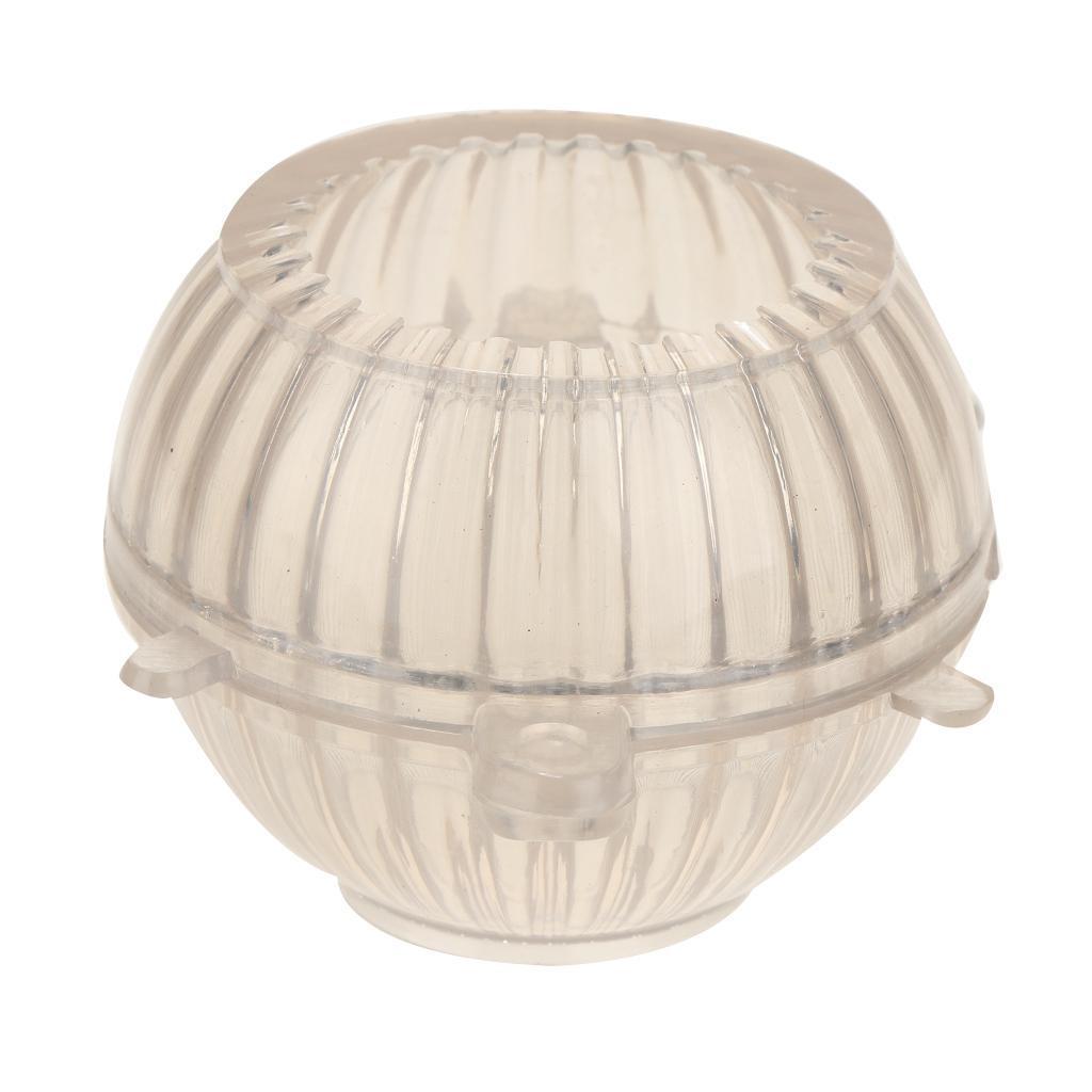Kerzengießform Kunststoff Transparent Runde Form Kerzenherstellung