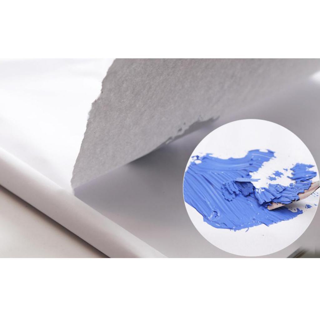 ARTIST DISPOSABLE PALETTE PAPER PAD OIL ACRYLIC WATERCOLOR PAINTS 36 Sheets