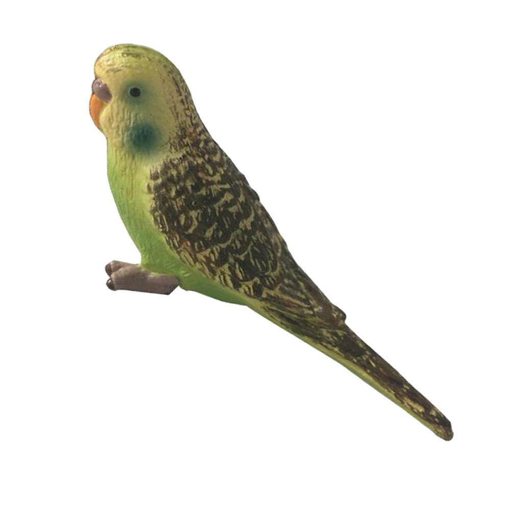 Lifelike Animal Bird Ornament Figurine Model Statue Lawn Sculpture
