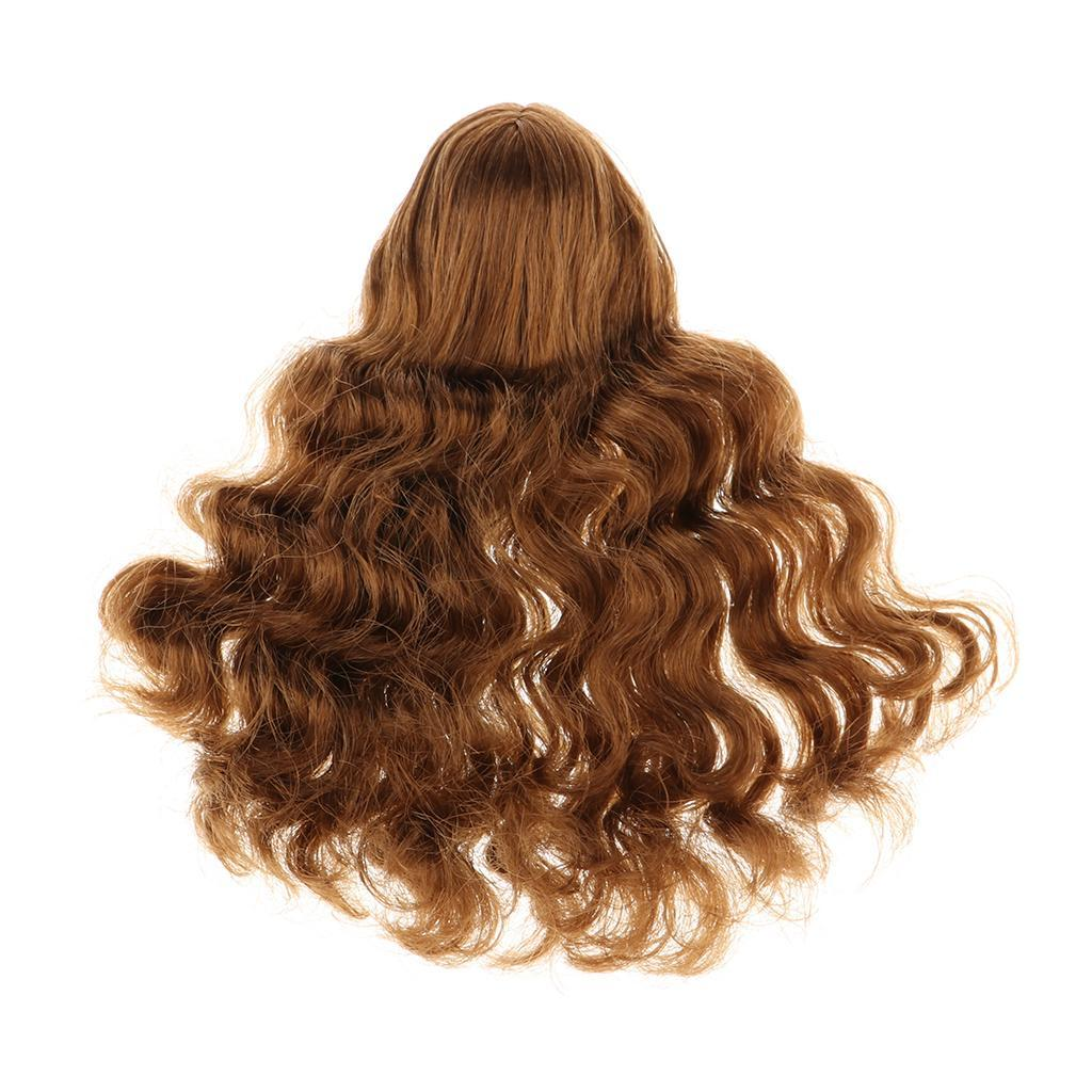 1//6 SCALA parrucchino estensione dei capelli per 12 Pollice Kumik Toys Figure Hot