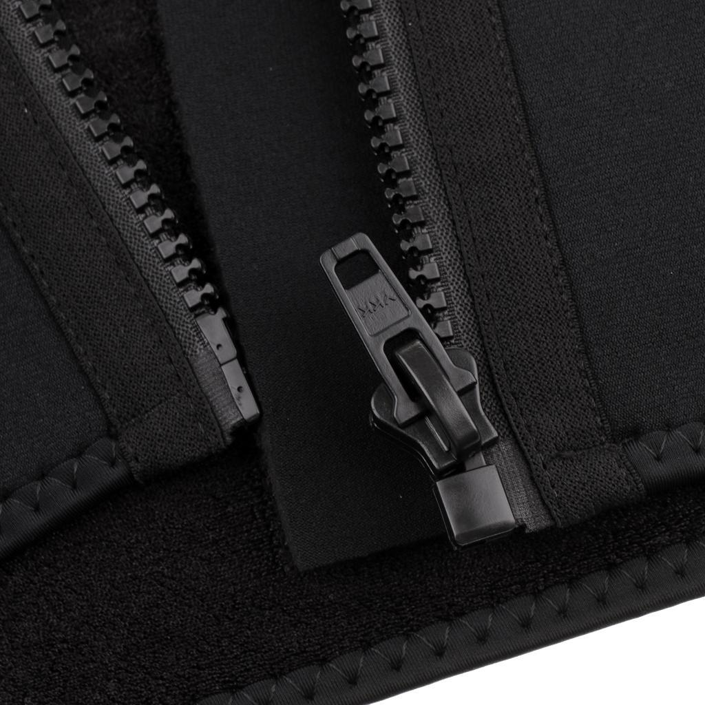 Männer 3mm Wetsuits Jacke Taucheranzug Langarm Voll Reißverschluss Neopren