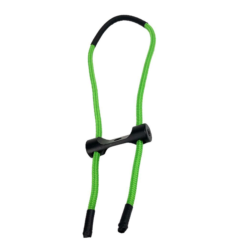 Archery Shooting Compound Bow Wrist Sling Strap Belt Cord String Rope 5color