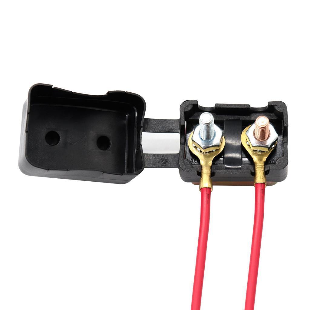 Car Boat SUV RV 12//24V Universal Circuit Breaker Auto Reset Metal Case