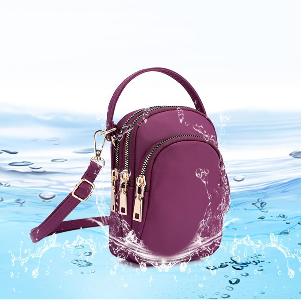 Fashion Women Girl Handbag Solid Travel Small Zipper Shoulder Cross Body Bag