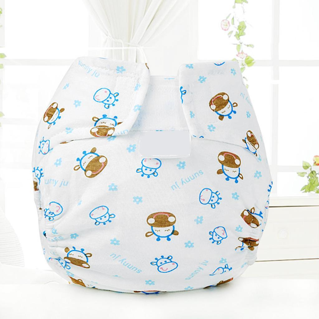 Prettyia Kids Infant Reusable Washable Cloth Diapers Nappy Cover Adjustable