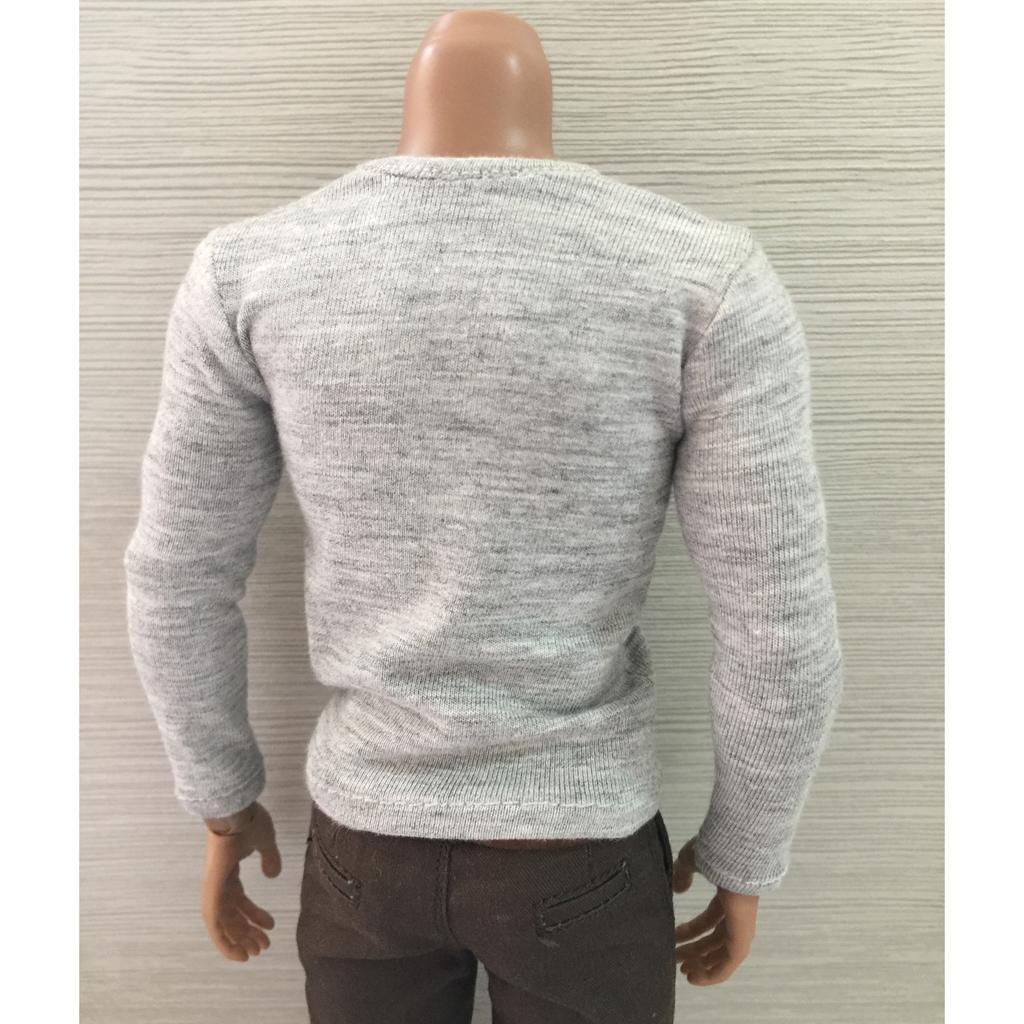T-shirt Vêtement Accessoires pour 1//6 Jouet Personnage Masculin
