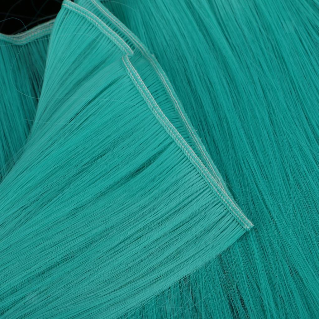 BJD Dolls Straight Wig DIY Hairpiece Makeup Hair Synthetic Craft Hair Custom