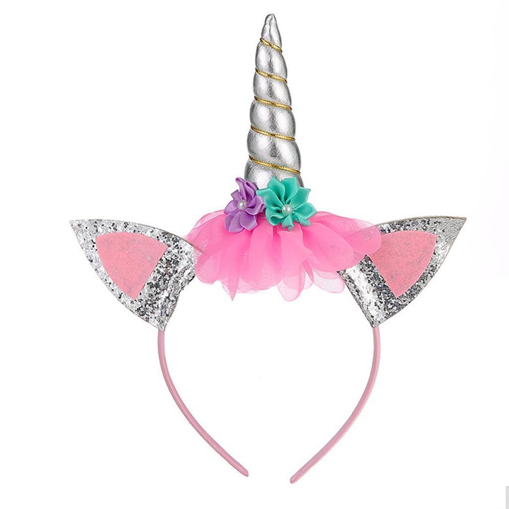 Tutu Dreams Unicorn Costume for Girls 3-8Y with Headband Girls Gifts