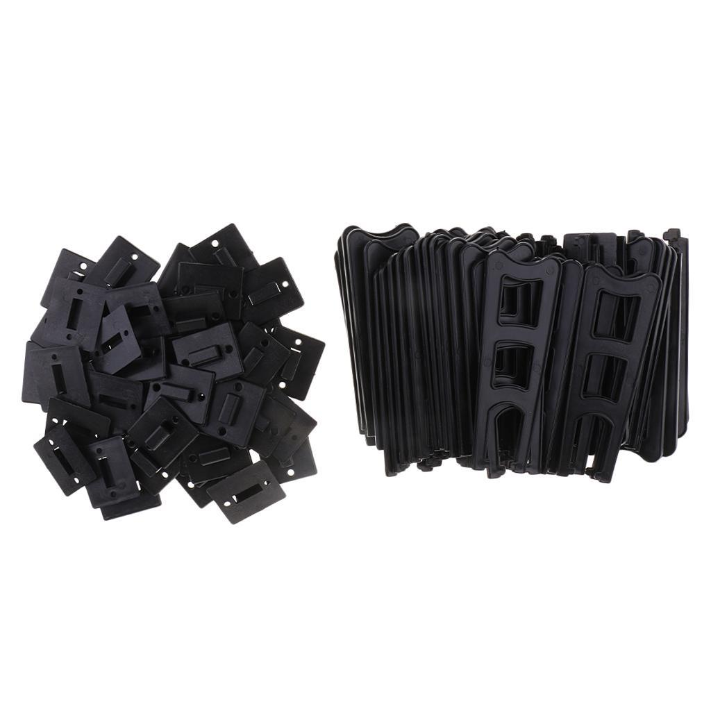 50x Plastic Easels Photo Frame Holder Stand to Display Picture or Other Item