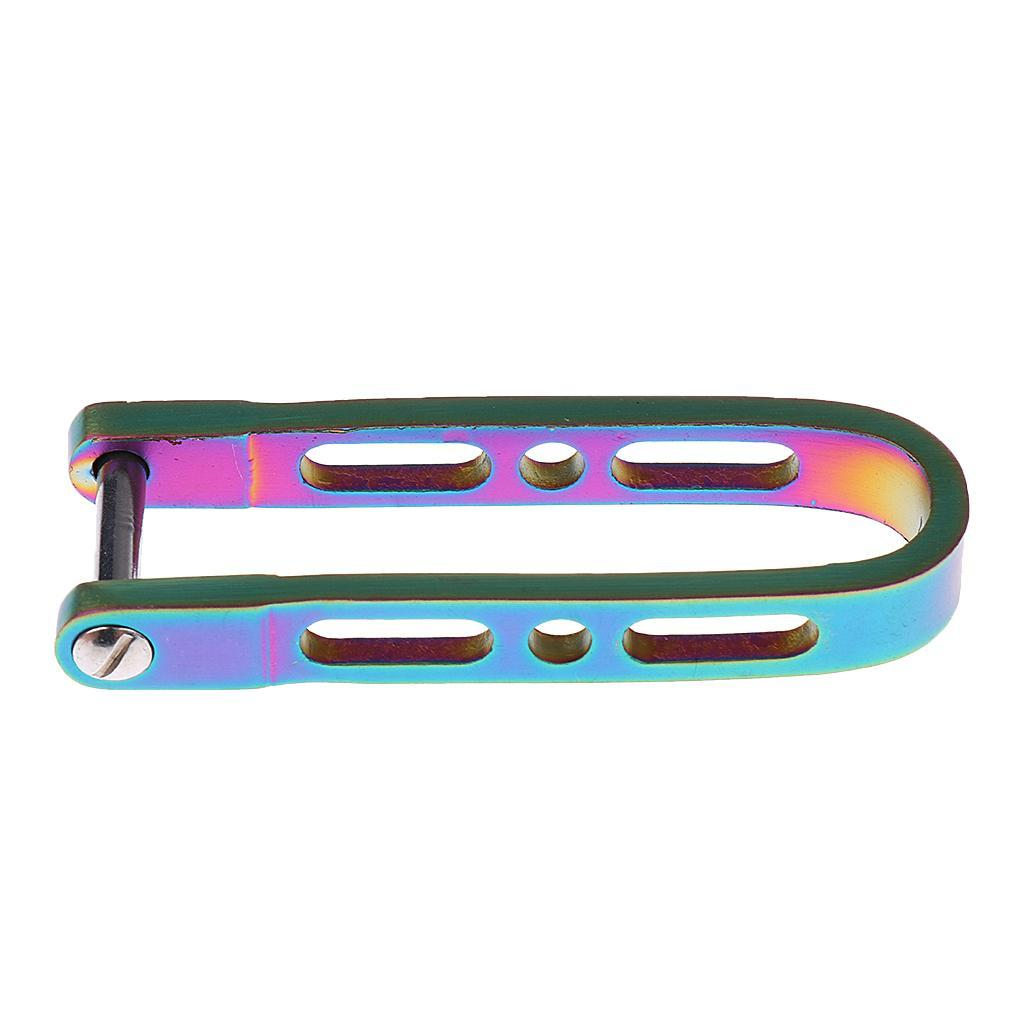 Stainless Pocket Keychain U Shape Key Holder Clip Organizer Outdoor  Gear