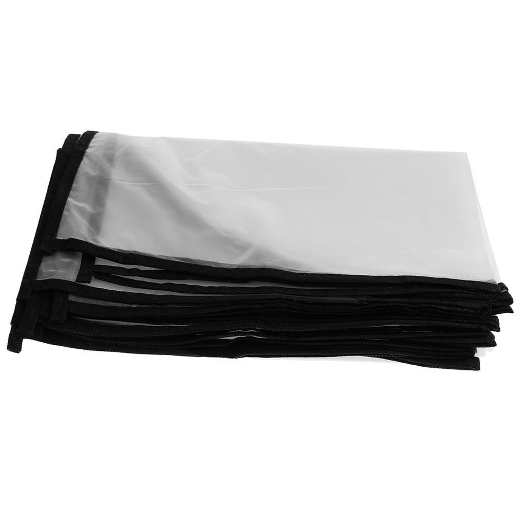 5x Garment Bag Cover Dress Suit Clothes Coat Protector Dustproof for Closet