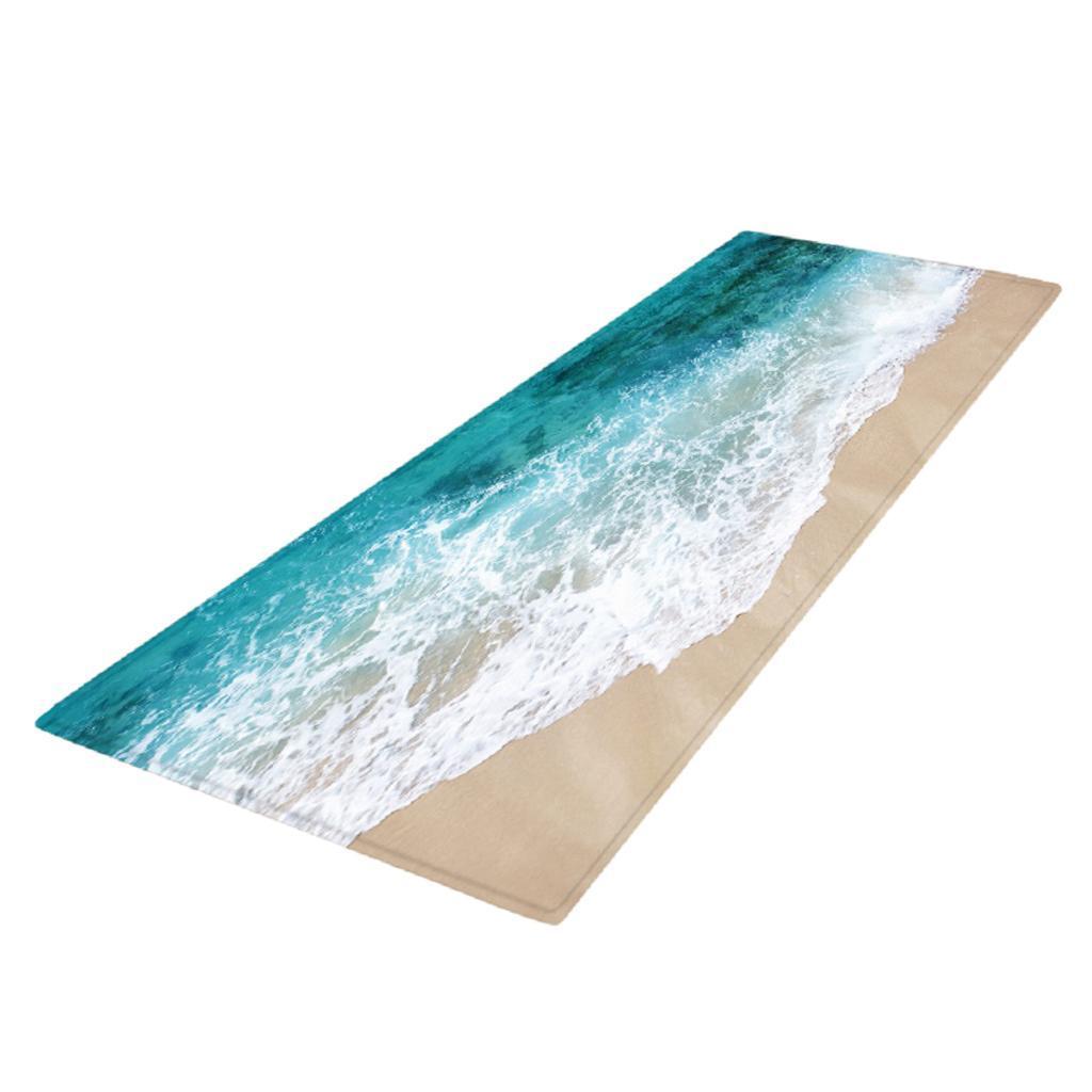 Non-Slip Kitchen Mat Doormat Soft Runner Rug Bedside Floor Carpet 120x40cm