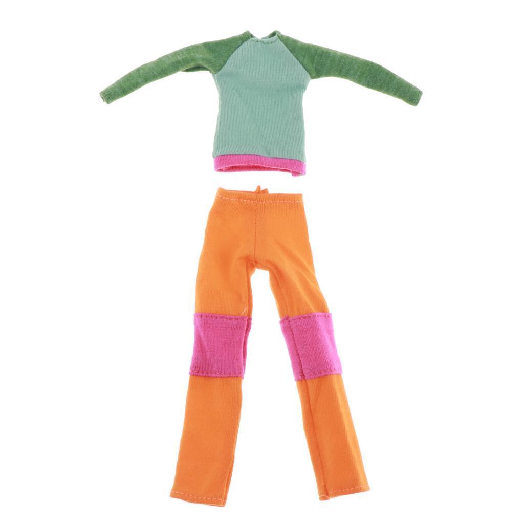 Action Figure Sweater 1//9 Weiblich Männlich Sweater Anzug Puppenzubehör
