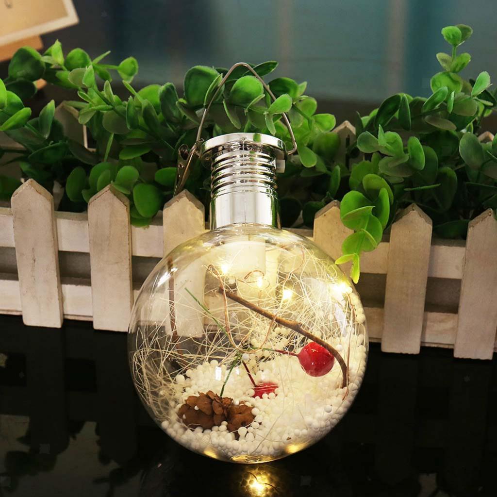 Solar Glühbirne mit hängendem Haken LED Hängelampe Birne für Hochzeit