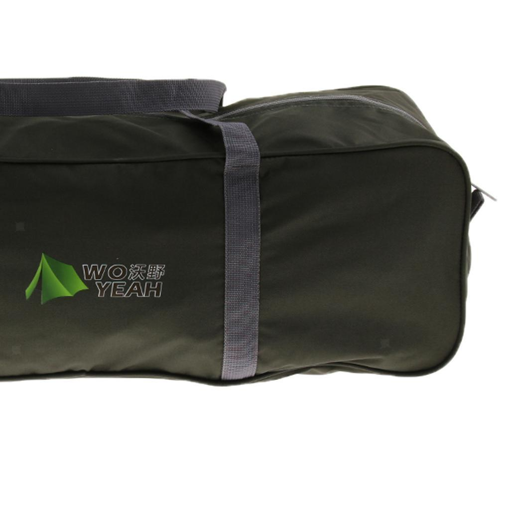 2x Camping Duffel Bag Outdoor Travel Sports Gym Tent Canopy Duffle Storage Bags