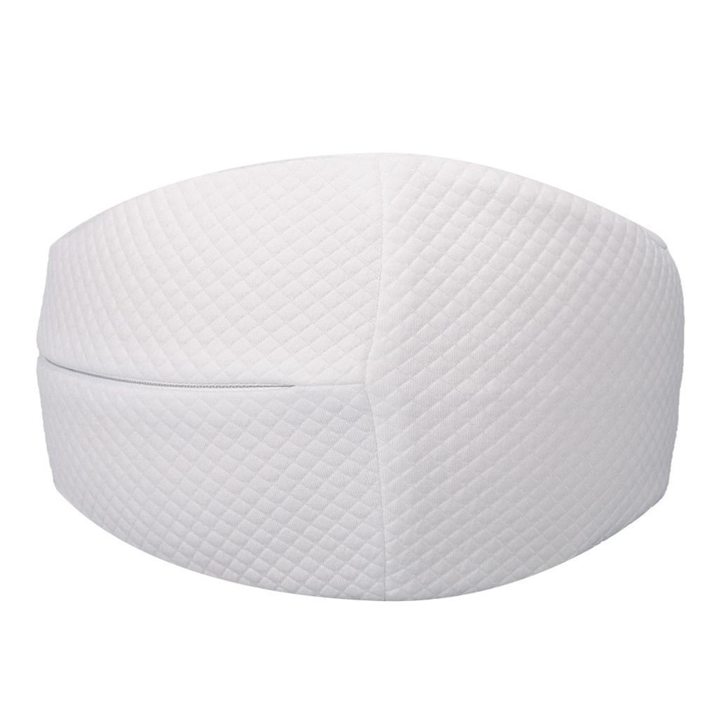 Comfortable Knee Pillow Memory Foam Leg Pillow Cushion with Zippered Cover
