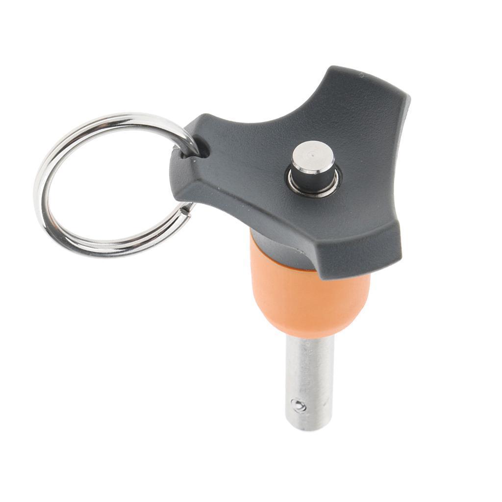 Top Out Ausführung Stiftdurchmesser 6mm, Schnellspanner Kugelsperrbolzen