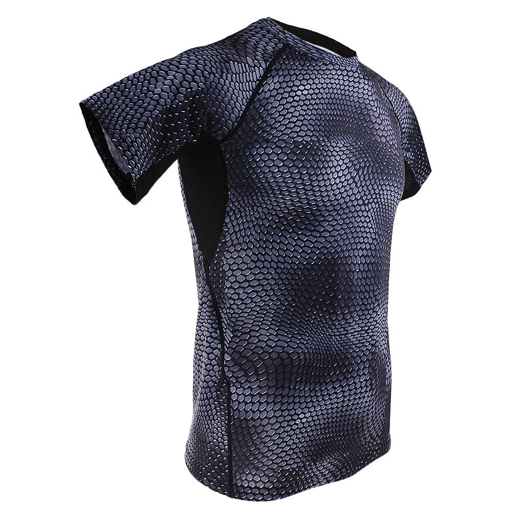 Gym Mens Compression Apparel Armour Male Base Layer Tights Shorts Tops T-Shirts