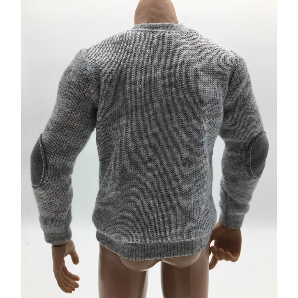 1//6 Scale Mens T-shirt//Cap//Jeans Pans//Jacket//Sweatshirt for 12/'/' Action Figure