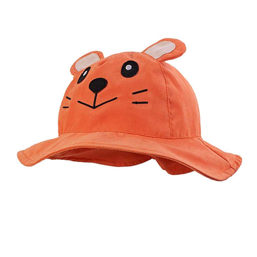 Lovely Baby Cartoon Sun Hat Summer Beach Cap for Boys Girls Kids Bucket Hat