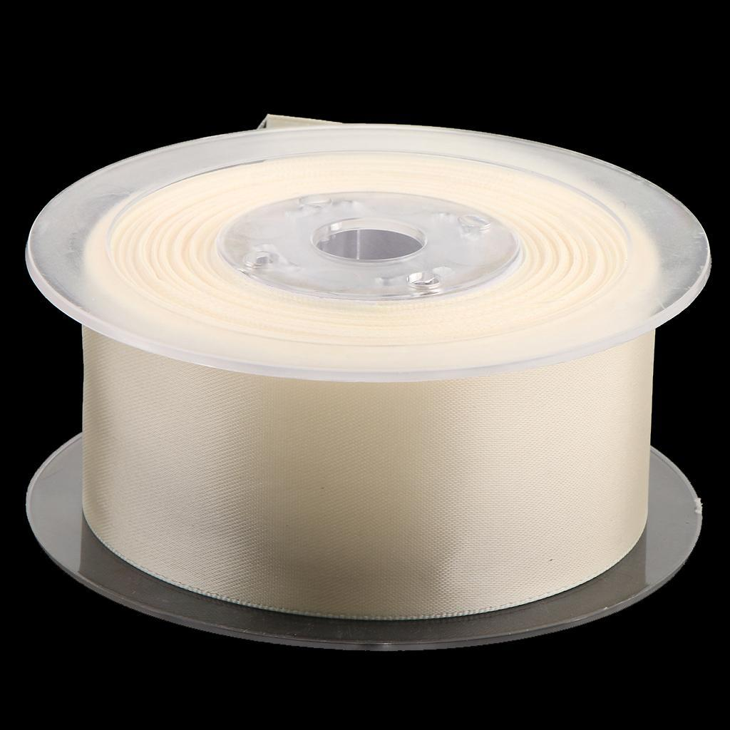 15 Meters Double Sided Polyester Satin Ribbon for Party Gift Wrapping Craft 38mm