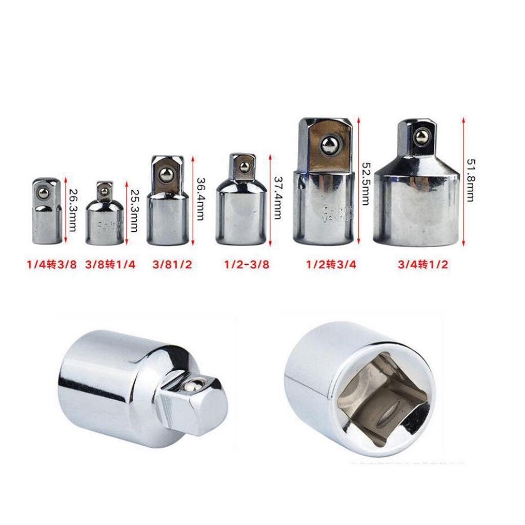 Socket Reducer Air Impact Convertors Durable Hand Tool 1//4 3//8 1//2 3//4/'/' Adaptor