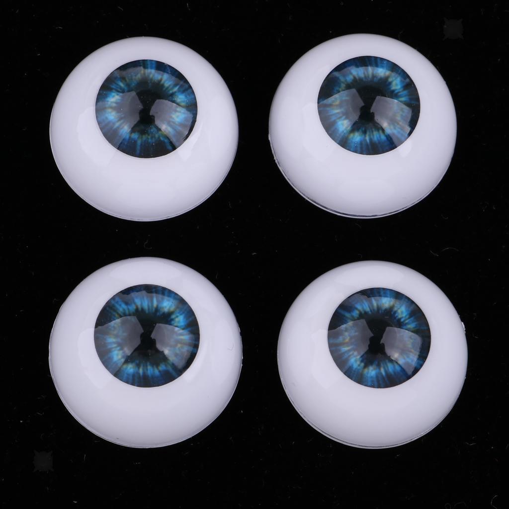 22mm Acrylic Eyeballs Eyes for Newborn Baby Doll BJD Dolls Accs DIY New