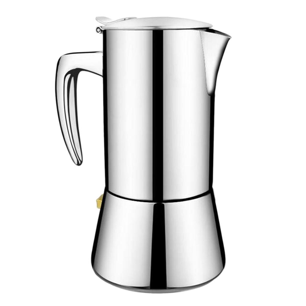 caffettiera moka per caffè espresso in acciaio inossidabile