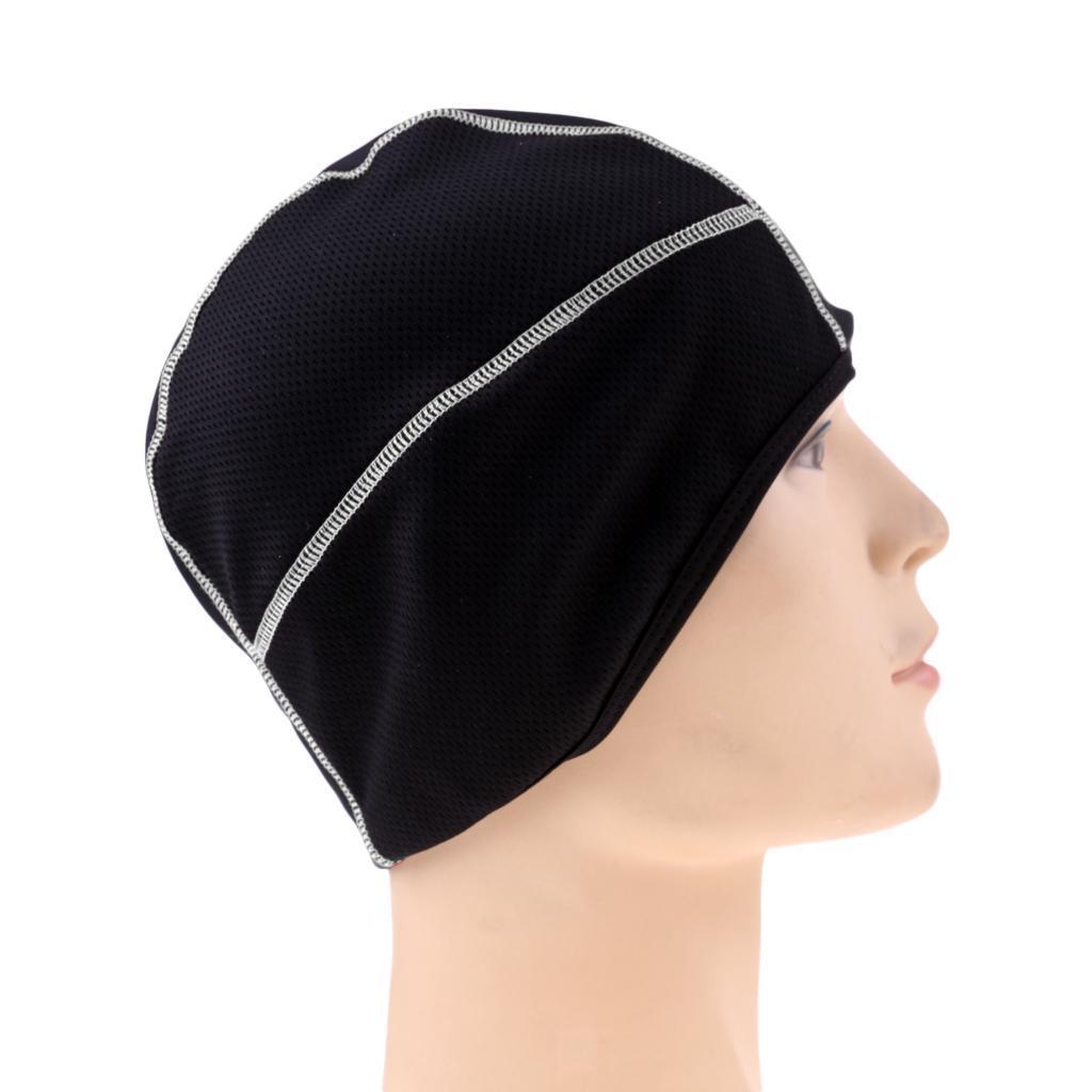 Bonnet Chapeau de Crâne Sous Casque à Séchage Rapide Beanie Cap pour