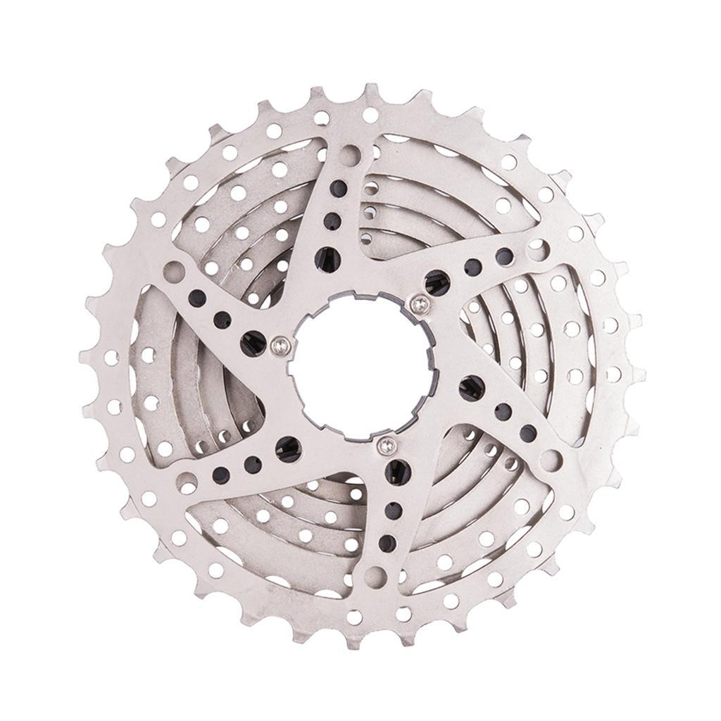 Steel 9//8 Speed 11-25T// 11-32 Tooth MTB Cassette Mountain Bicycle Freewheel