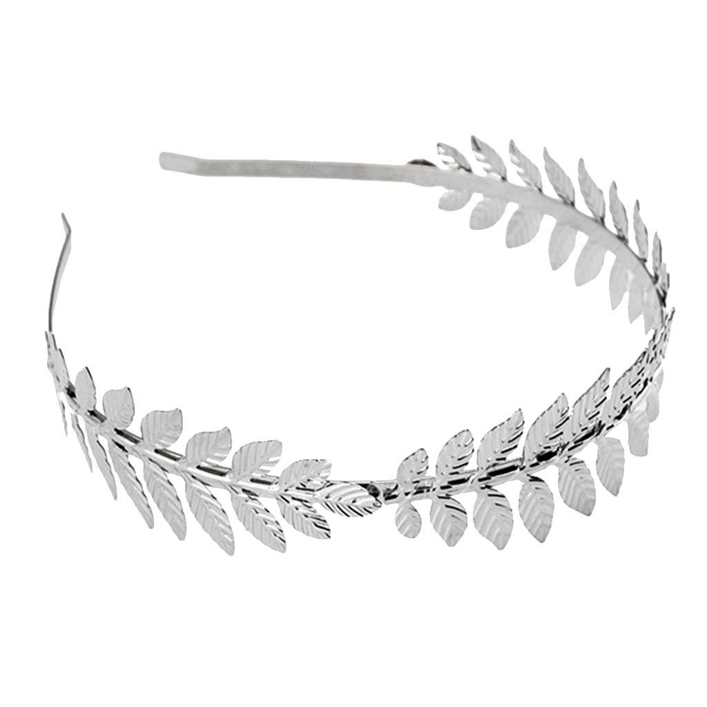 Boho Charms Leaf Branches Bridal Hair Crown Alice Band Hairbands Girls Jewelry