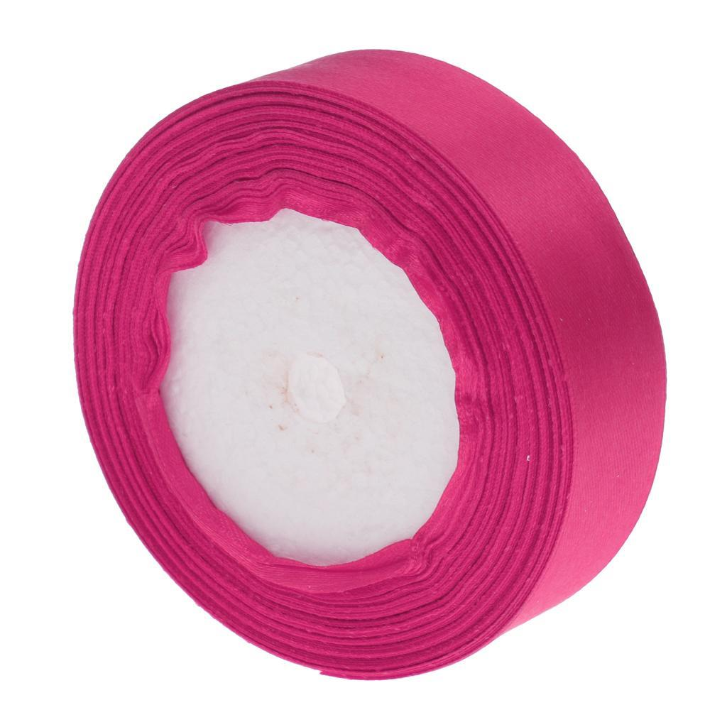 Double Face Satin Ribbon Rolls for Crafts Gift Wrapping Wedding Party Decoration
