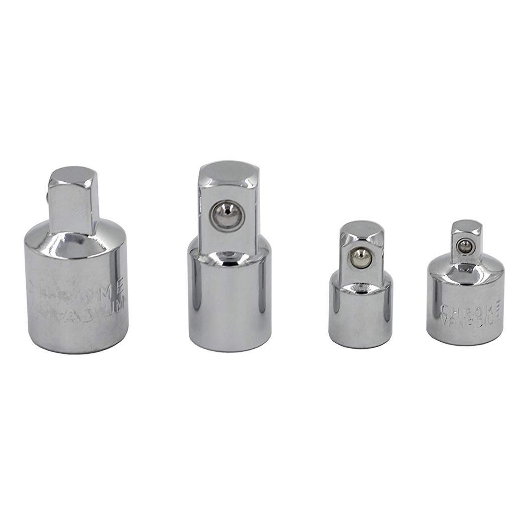 Impact Adapter Reducer Kit Wrenches 1//4 3//8 1//2 3//4/'/' Ratchet Socket Adaptors