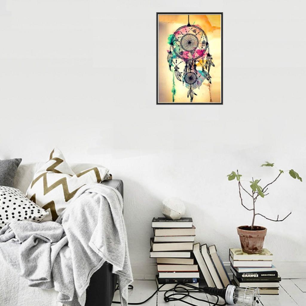 baoblaze diy 5d diamond embroidery painting rose tiger cross stitch home decor