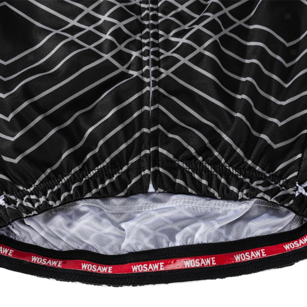 Outdoor Sports Cycling Jersey for Woman Long Sleeve with Reflective Strips