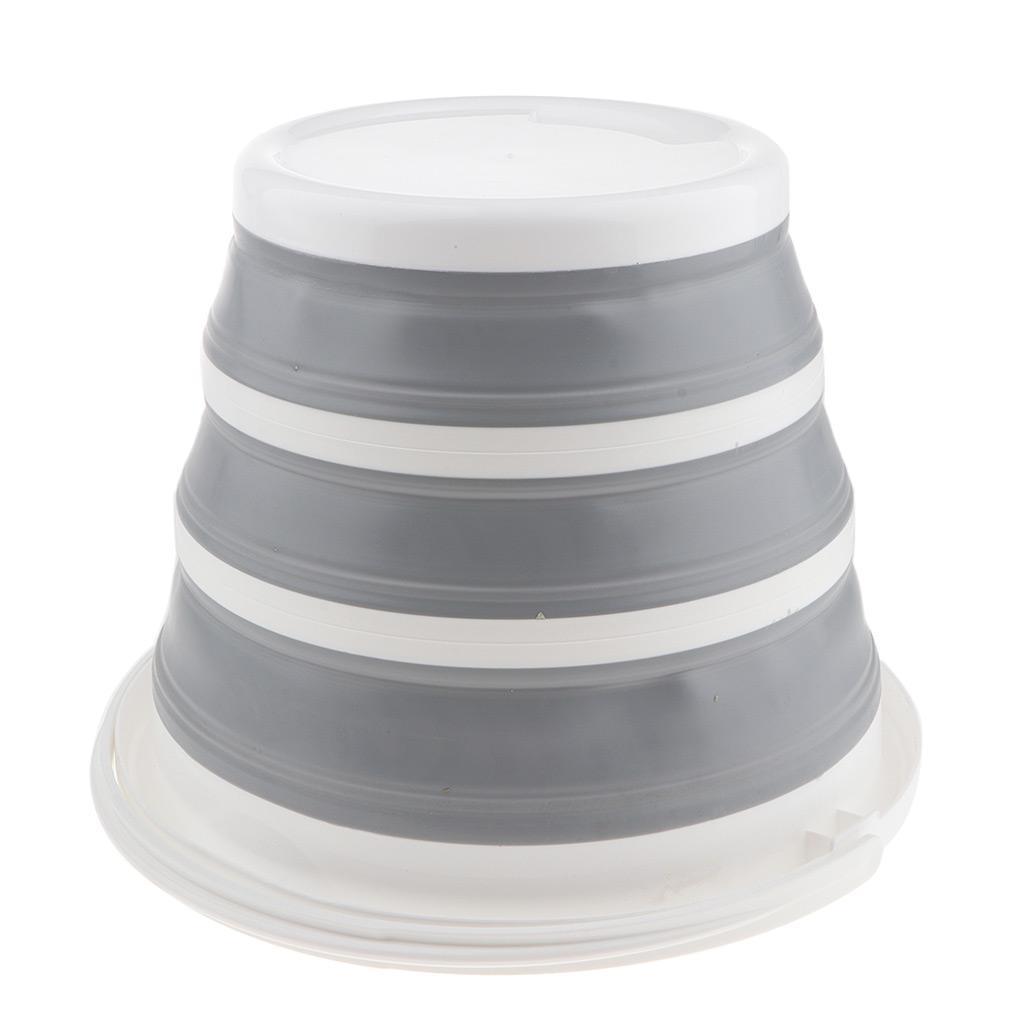 10L tragbare multifunktionale faltbare Outdoor Speicherbehälter Eimer,
