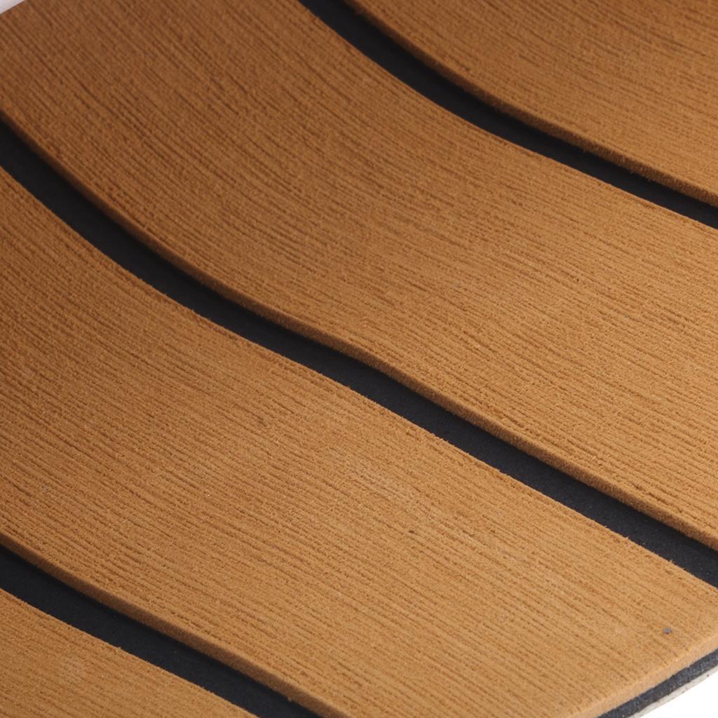 Feuille de Plancher de Bateau Tapis Auto Adhésif Anti-Dérapant Protection