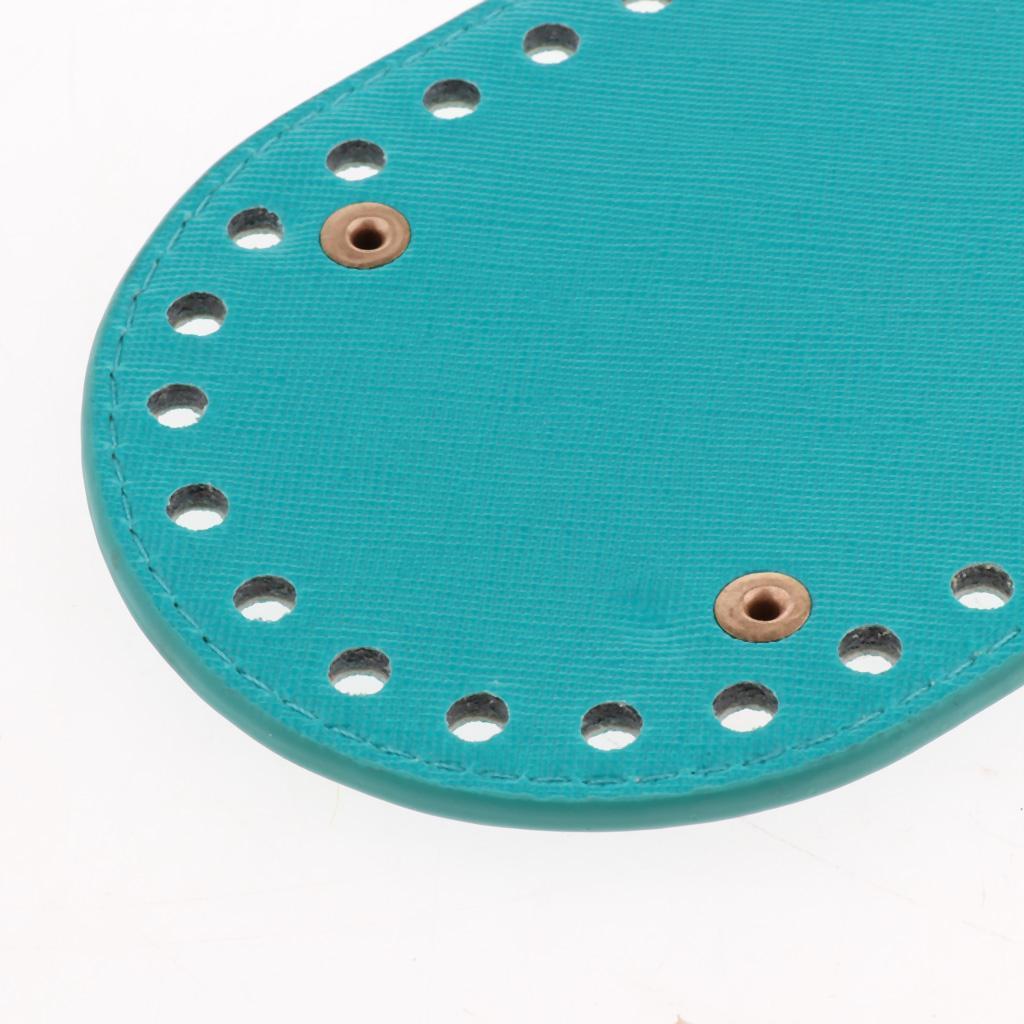 Hand-woven DIY Crocheting Bags Bottom Insert Pad Shaper Nail Cushion 42 Hole