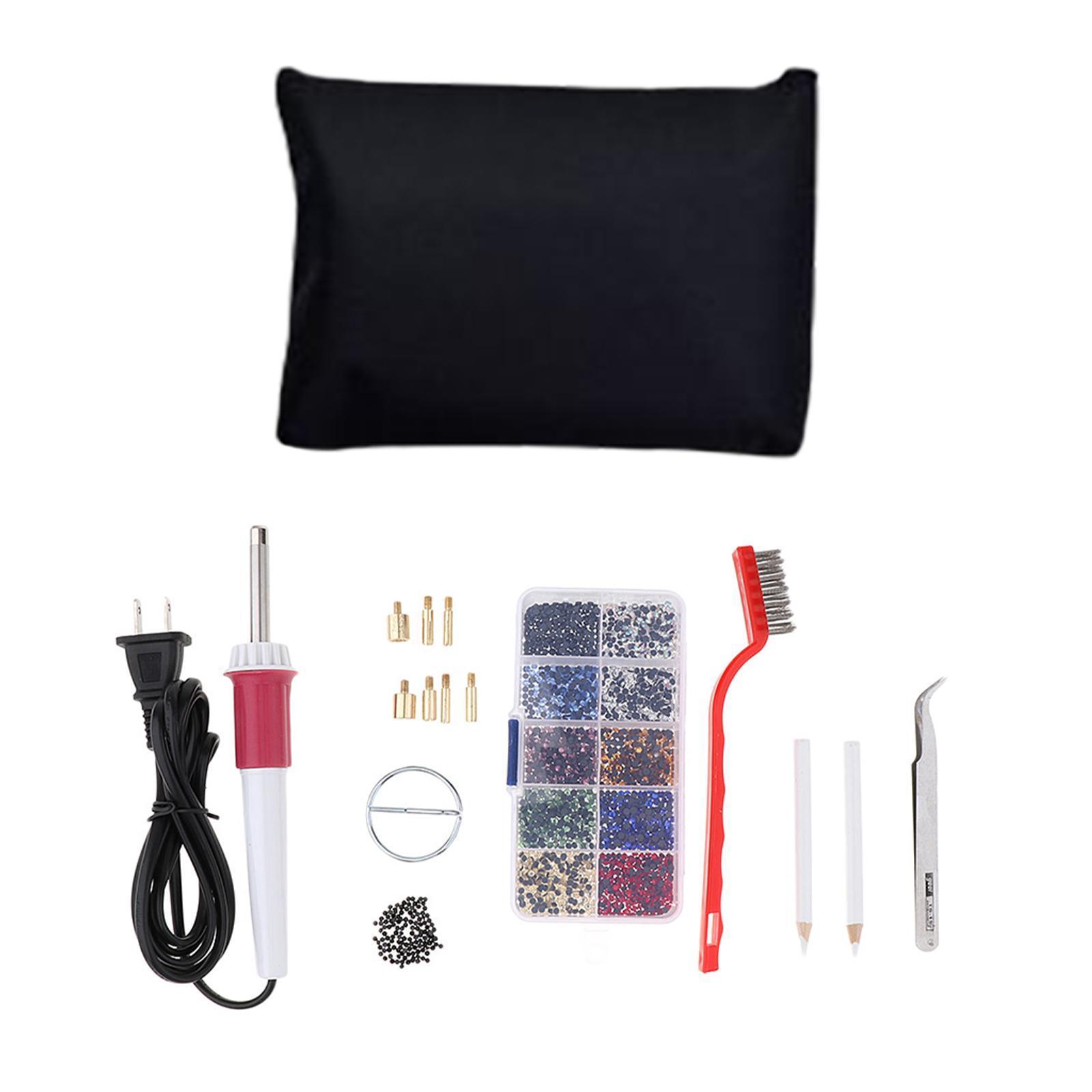 Iron-on Applicator Wand Heat Gun for Hot Fix Hotfix Rhinestone Crystal Tools