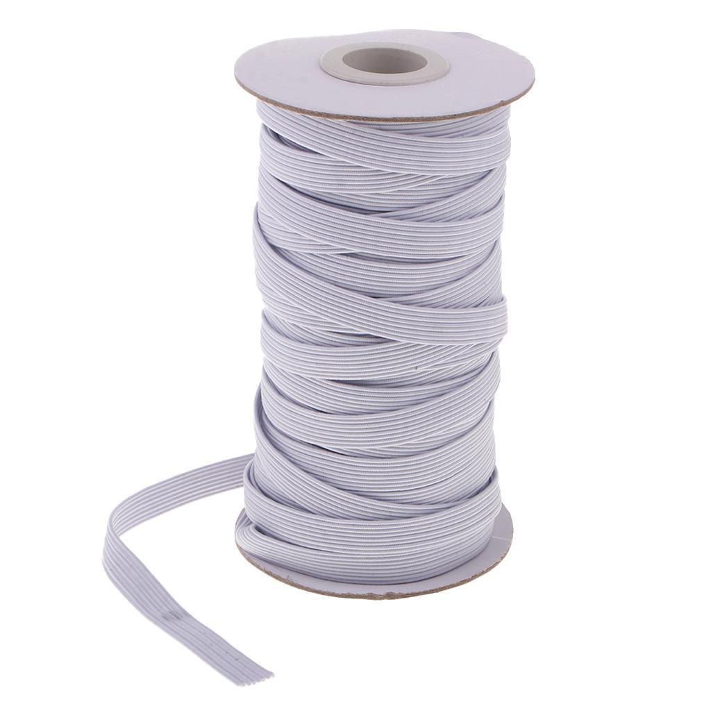 17 Meter Gummiband zum Nähen 8mm Breit Wäschegummi Gummizug elastisches
